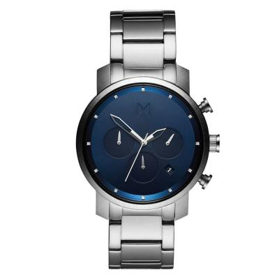 MVMT Chrono Midnight Stainless Steel Bracelet MC02-SBLU