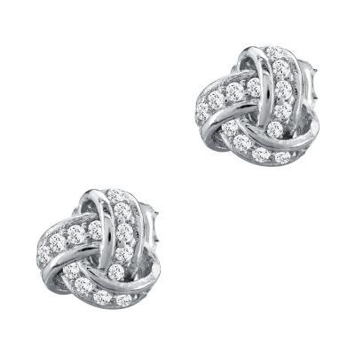 Σκουλαρίκια Με Πέτρες Από Ασήμι SK971