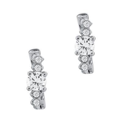 Σκουλαρίκια Με Πέτρες Από Ασήμι SK968