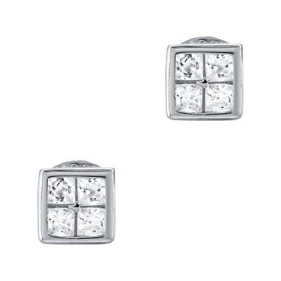 Σκουλαρίκια Με Πέτρες Από Ασήμι SK970