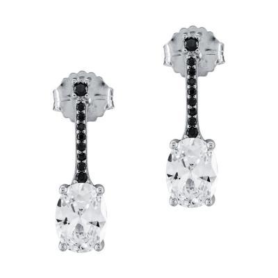 Σκουλαρίκια Με Πέτρες Από Ασήμι SK976