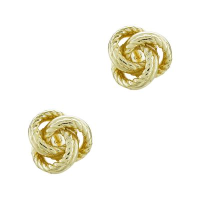 Σκουλαρίκια Από Επιχρυσωμένο Ασήμι SK962