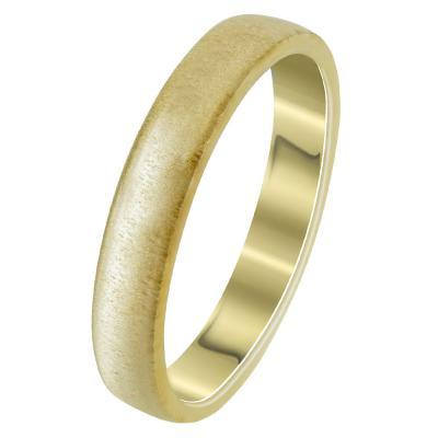 Κίτρινη Χρυσή Βέρα Γάμου WR294