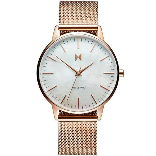 MVMT Sunset Rose Gold Stainless Steel Mesh MB01-RGPL
