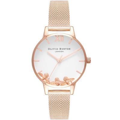 OLIVIA BURTON Busy Bees Rose Gold Bracelet OB16CH01