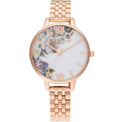 OLIVIA BURTON Enchanted Garden Rose Gold Bracelet OB16EG135