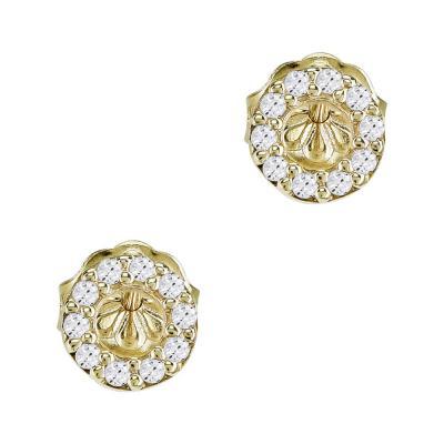 Σκουλαρίκια Κύκλοι Από Κίτρινο Χρυσό Κ14 SK919