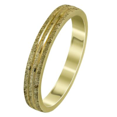 Κίτρινη Χρυσή Βέρα Γάμου WR296