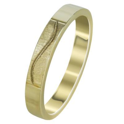 Κίτρινη Χρυσή Βέρα Γάμου WR301