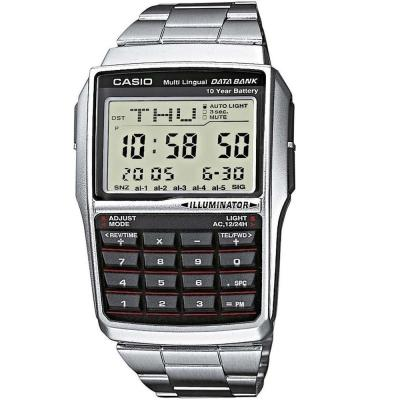 CASIO Collection Data Bank Stainless Steel Bracelet DBC-32D-1AE