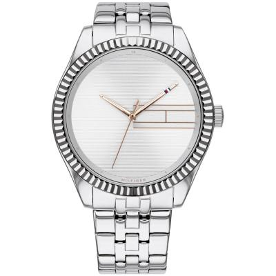 TOMMY HILFIGER Casual Silver Stainless Steel Bracelet 1782080