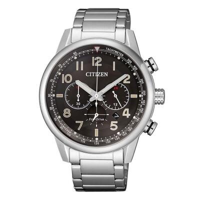 CITIZEN Eco-Drive Chronograph Silver Stainless Steel Bracelet CA4420-81E