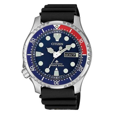 CITIZEN Promaster Divers Automatic Black Rubber Strap NY0086-16L