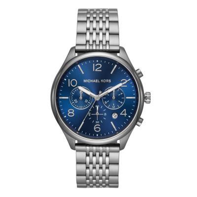 Michael KORS Merrick Chronograph Grey Stainless Steel Bracelet MK8639