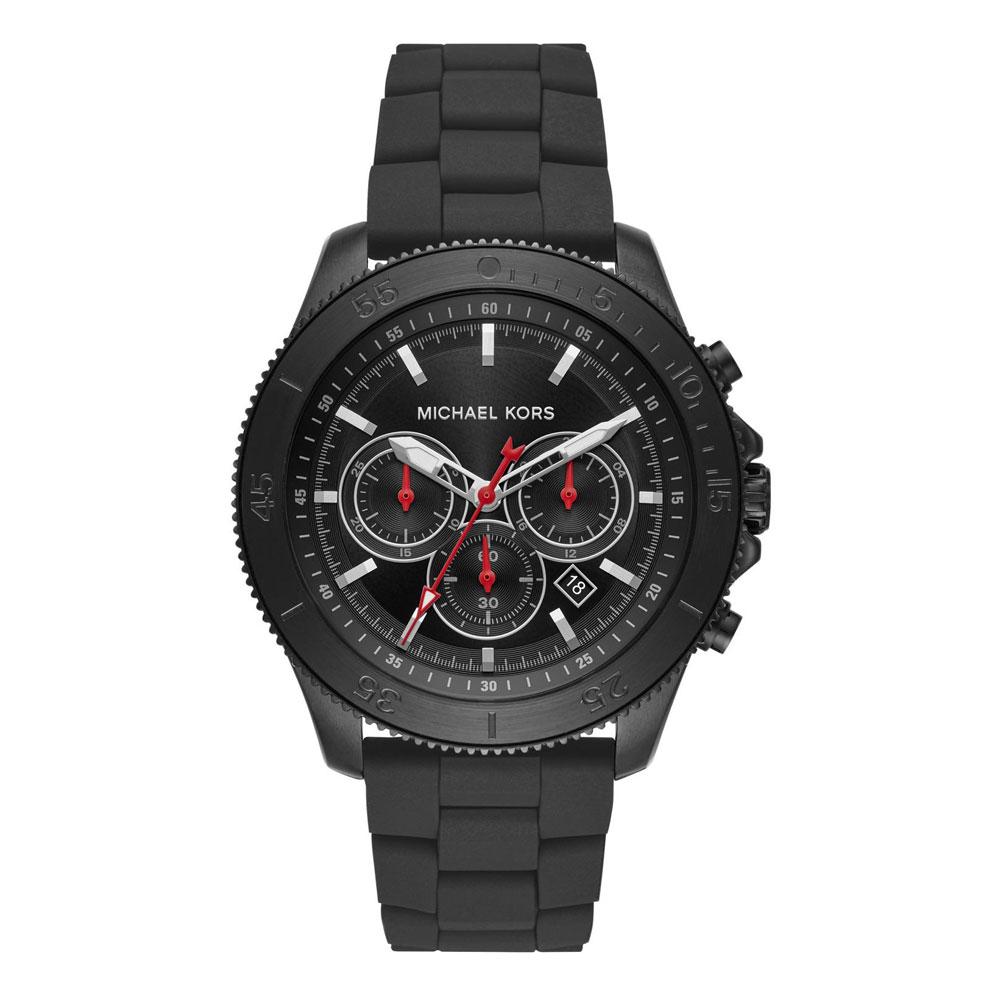 Michael KORS Theroux Chronograph Black Stainless Steel Bracelet MK8667