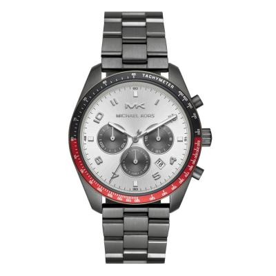 Michael KORS Keaton Chronograph Grey Stainless Steel Bracelet MK8683