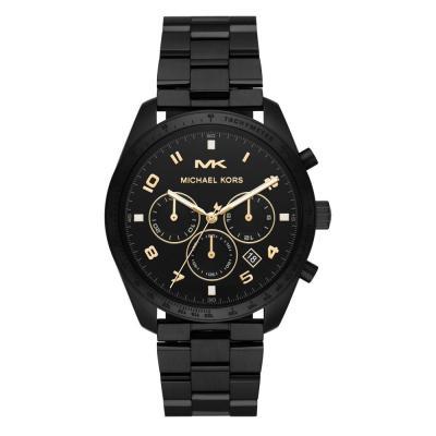Michael KORS Keaton Chronograph Black Stainless Steel Bracelet MK8684