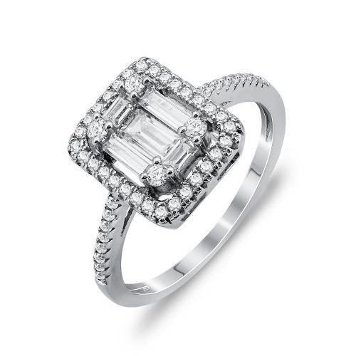 Luxenter Δαχτυλίδι Από Ασήμι DX808