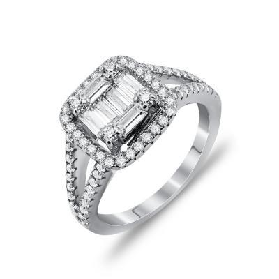Luxenter Δαχτυλίδι Mε Πέτρες Από Ασήμι DX807