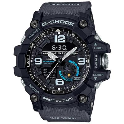 CASIO G-SHOCK Chronograph Grey Rubber Strap GG-1000-1A8ER