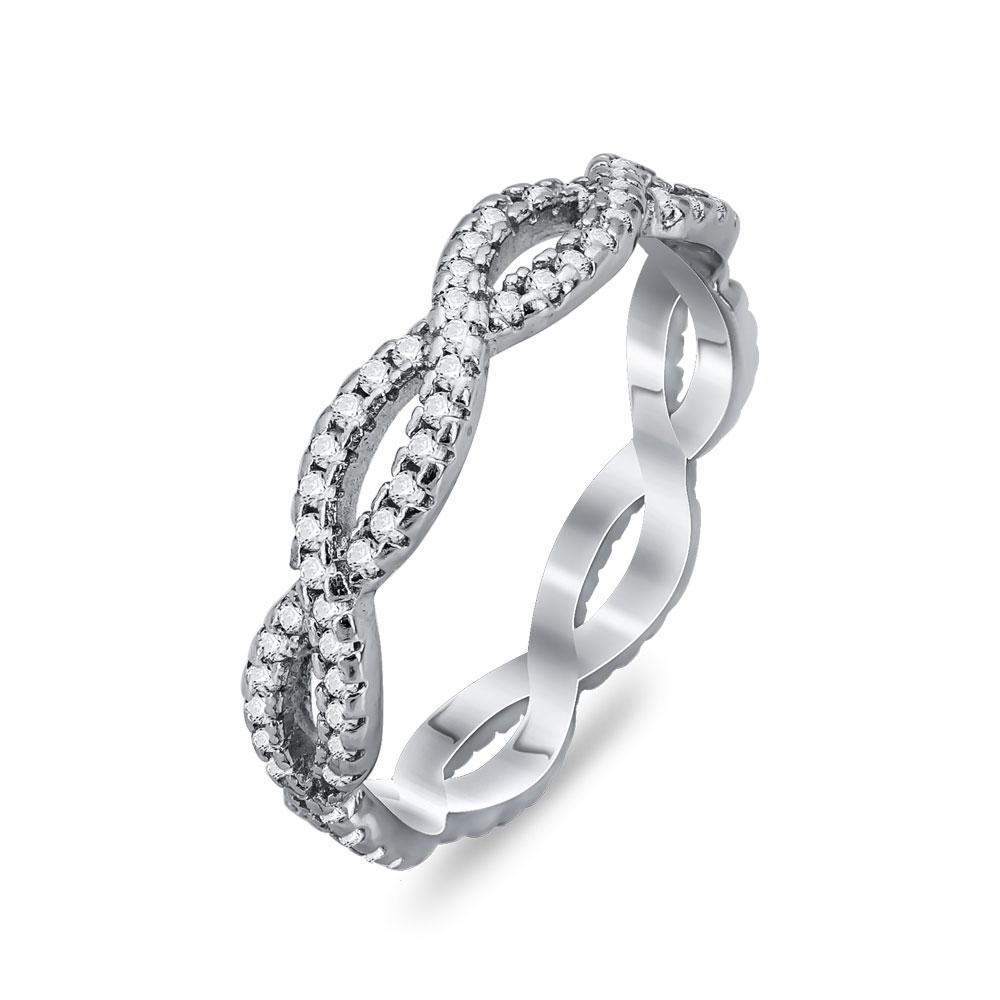 Δαχτυλίδι Με Το Άπειρο Από Ασήμι DX751