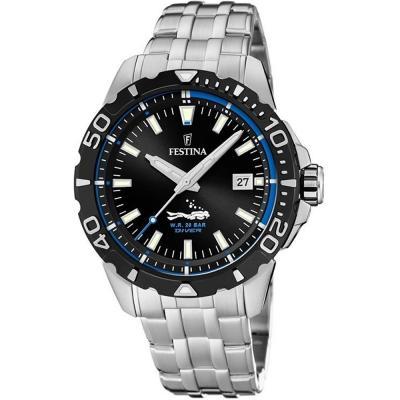 FESTINA Diver Silver Stainless Steel Bracelet F20461-4