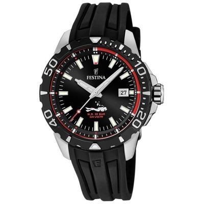 FESTINA Diver Black Rubber Strap F20462-2