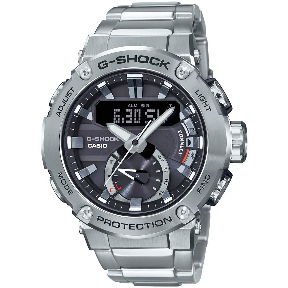 CASIO G-SHOCK Solar Stainless Steel Bracelet GST-B200D-1AER