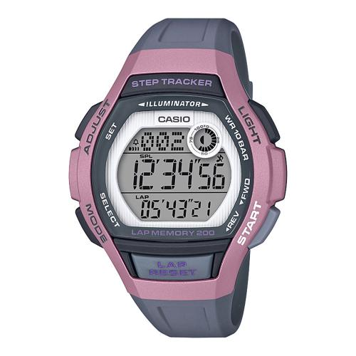 CASIO Collection Sport Grey Rubber LWS-2000H-4AVEF