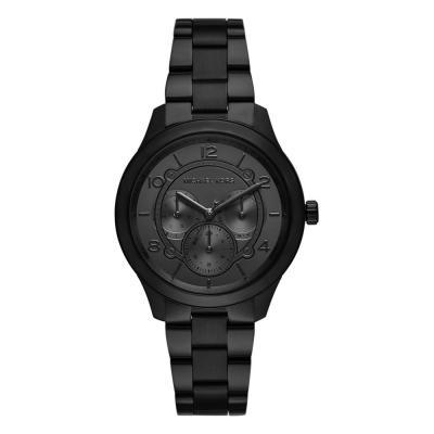 Michael KORS Runway Black Stainless Steel Bracelet MK6608