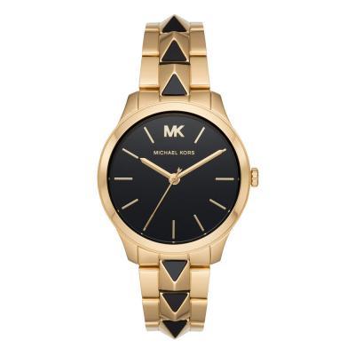 Michael KORS Runway Gold Stainless Steel Bracelet MK6669