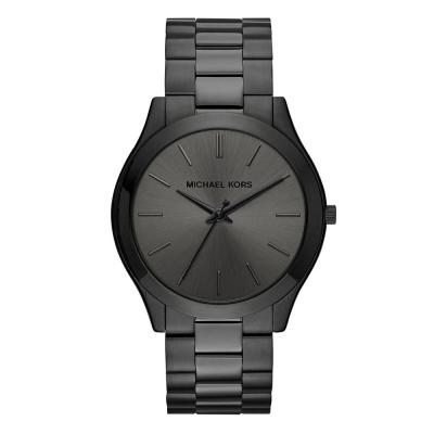 Michael KORS Slim Runway Black Stainless Steel Bracelet MK8507