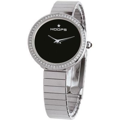 HOOPS Etoile Crystals Elastic Silver Bracelet 2605LS02