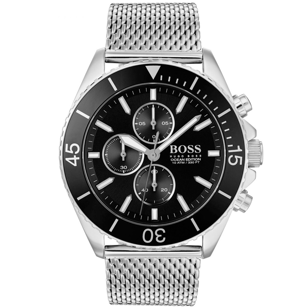 HUGO BOSS Ocean Edition Chronograph Stainless Steel Bracelet 1513701