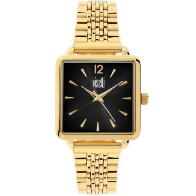 VISETTI Elite Gold Stainless Steel Bracelet HF-354GB
