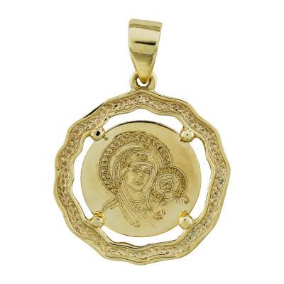 Κωνσταντινάτο Από Κίτρινο Χρυσό Κ14 KN249