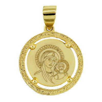 Κωνσταντινάτο Από Κίτρινο Χρυσό Κ14 KN250