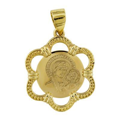 Κωνσταντινάτο Από Κίτρινο Χρυσό Κ14 KN261