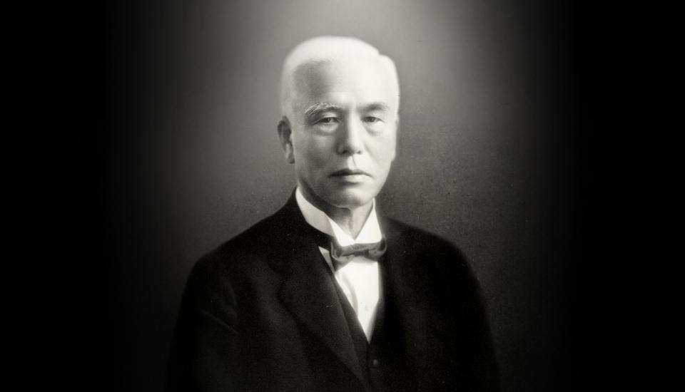 Πορτραίτο του επιχειρηματία Kintaro Hattori ιδρυτή των ρολογιών SEIKO