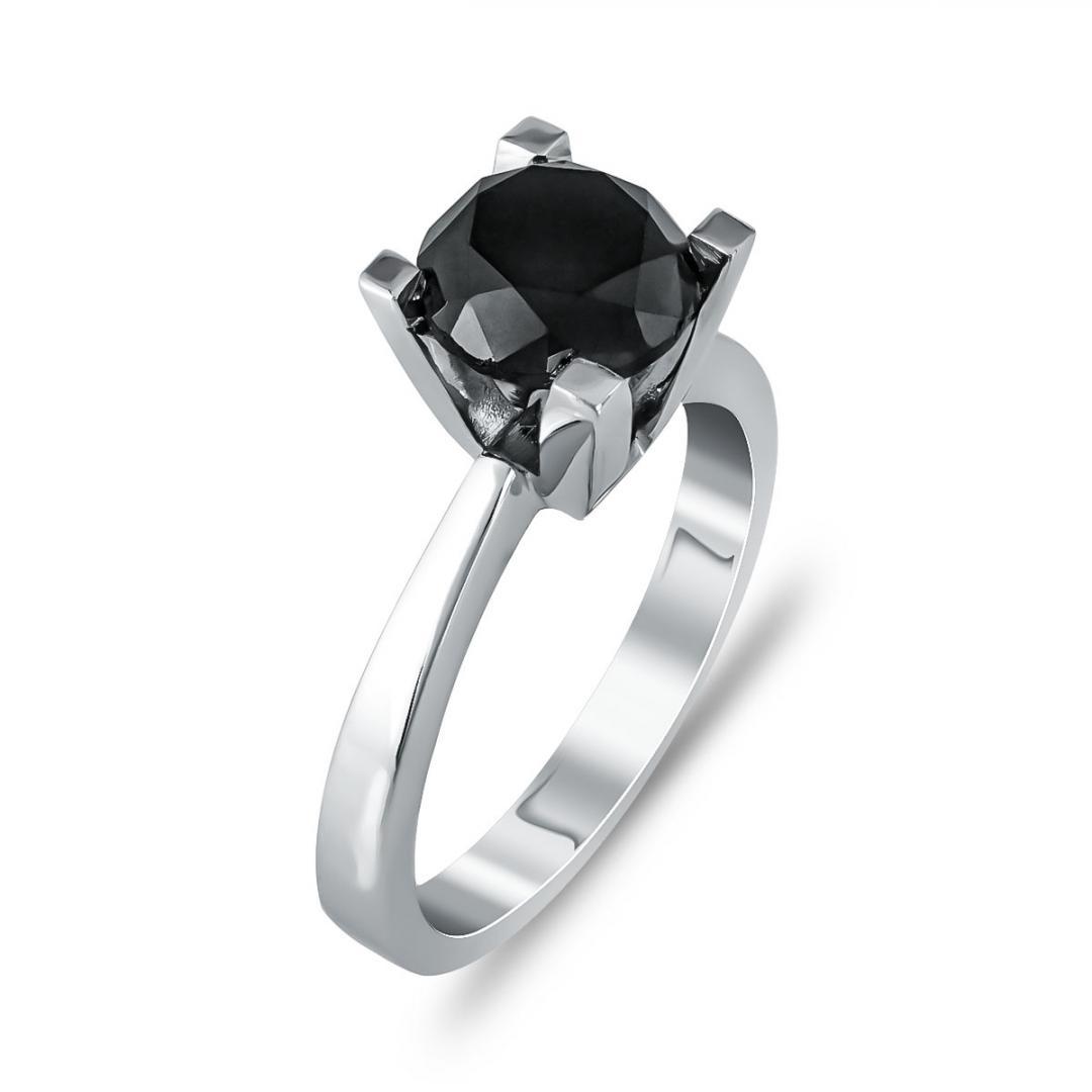 Μονόπετρο Δαχτυλίδι Κ18 με Διαμάντι Brilliant R25109