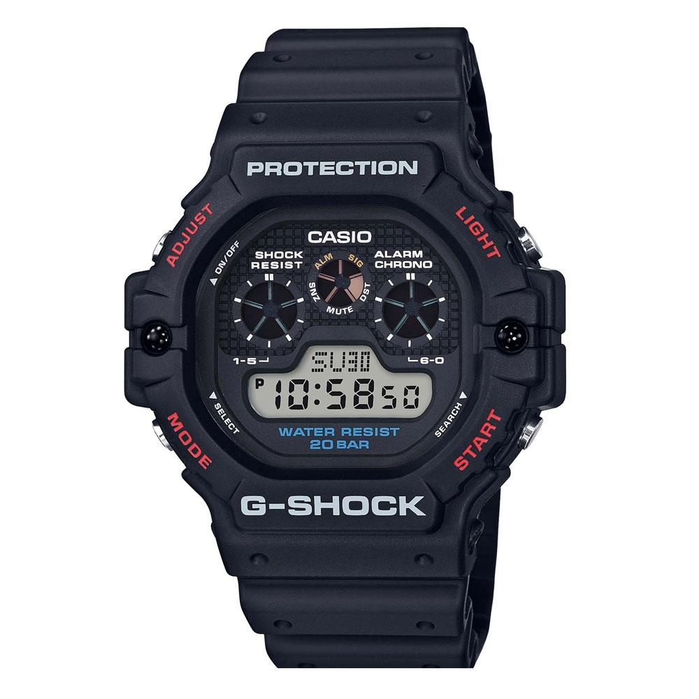 CASIO G-Shock Chronograph Black Rubber Strap DW-5900-1ER
