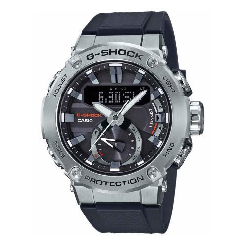 CASIO G-SHOCK Solar Chronograph Black Rubber Strap GST-B200-1AER