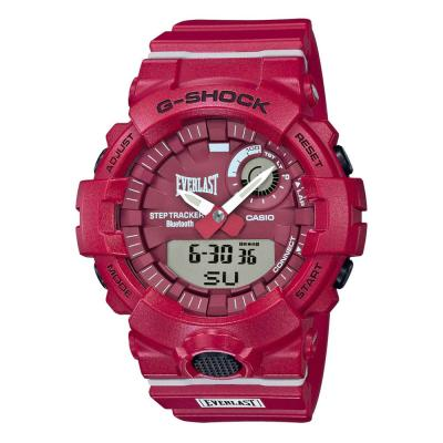 CASIO G-SHOCK Chronograph Everlast Special Edition Red Rubber Strap GBA-800EL-4AER