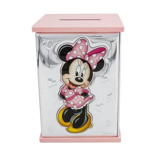 Disney Κουμπαράς Για Κοριτσάκι Από Ασήμι VL/D303-RA