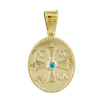 Κωνσταντινάτο Από Κίτρινο Χρυσό Κ14 KN242