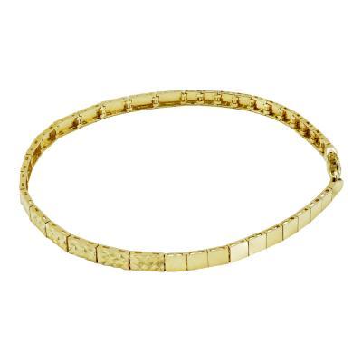 Βραχιόλι Από Κίτρινο Χρυσό Κ14 VR94547
