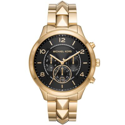 Michael KORS Runway Mercer Chronograph Gold Stainless Steel Bracelet MK6712