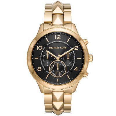 Michael KORS Runway Mercer Chronograph Gold Stainless Steel Bracelet MK6712