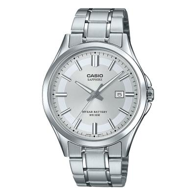 CASIO Collection Silver Stainless Steel Bracelet MTS-100D-7AVEF
