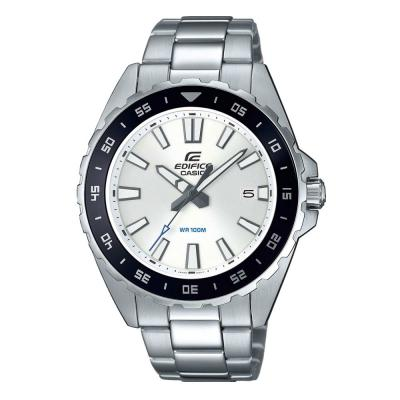 CASIO Edifice Silver Stainless Steel Bracelet EFV-130D-7AVUEF